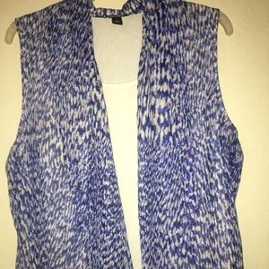 New Directions XL Sleeveless Blouse
